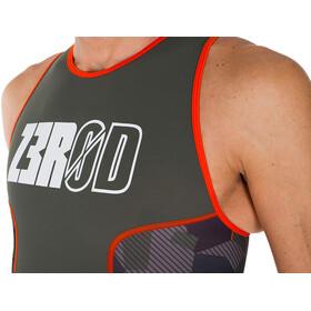 Z3R0D Racer Trisuit Men camo